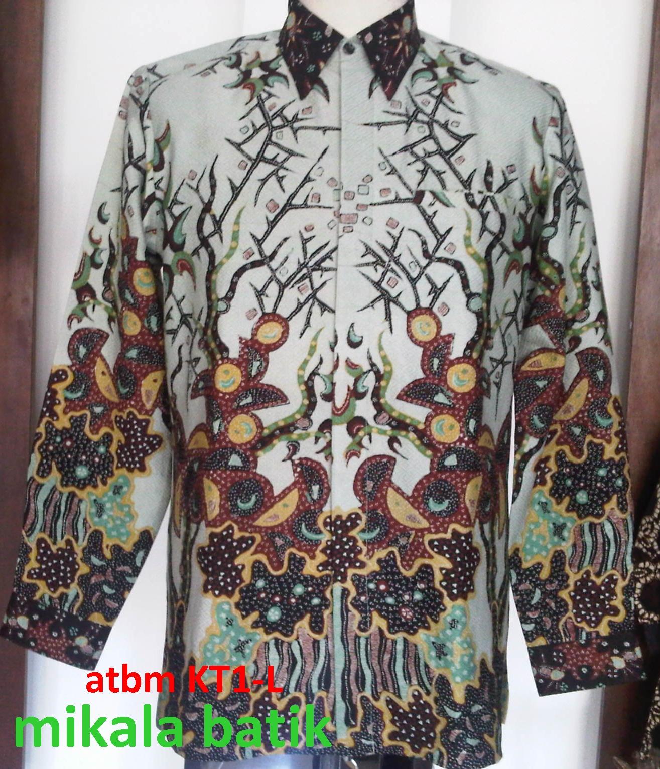 Kemeja Dari Batik Tulis: Kemeja Batik Tulis Cirebon,bahan Atbm,size L,harga 1.750